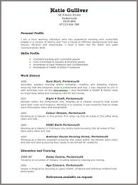 CV Sample for Volunteering CV Plaza