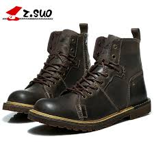 best cheap motorcycle boots 2017 autumn new fashion high top men s motorcycle boots the best