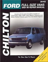 car engine manuals 1997 ford econoline e250 free book repair manuals ford econoline van repair manual by chilton 1989 1996