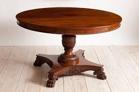 antique mahogany pedestal table round antique table antique round center pedestal table in mahogany