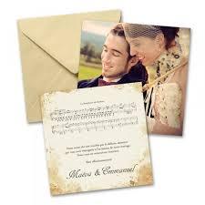 faire part de remerciement mariage remerciements mariage musique