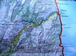 Corsica Map Road Map Of Day Trip Solenzara To Bavella Mountain Corsica