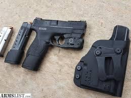 m p shield laser light combo armslist for sale smith wesson m p shield pc 9mm pistol