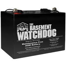 home depot black friday batteries basement watchdog maintenance free agm standby battery bw 27agm