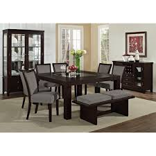 Grey Fabric Dining Room Chairs Dining Wooden Table Idea And Grey Chairs For Casual