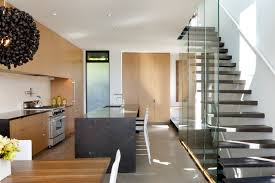 Kitchen Stairs Design Blaine Stairs Contemporary Kitchen Seattle By Dovetail
