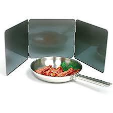 stove splash guard amazon com 21 1 4 stovetop splash guard splatter shield cookware