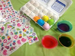 how to decorate easter eggs temporary tattoos