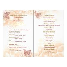 wedding program wording exles wedding program design templates 28 images free wedding