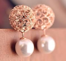 two sided earrings 15 stylish designs of small earrings for in trend styles