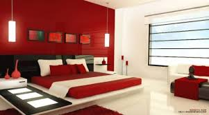 Red Bedroom Accent Wall Black And Red Bedroom Ideas Platform Bed With End Cabinet Brown