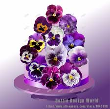 flowers cake topper promotion shop for promotional flowers cake