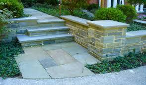 contemporary hirsch brick and stone