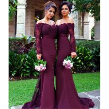 wedding dresses with burgundy burgundy bridesmaid dresses buy