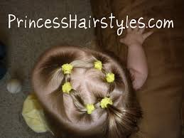 simple hairstyles with one elastic hairstyles for girls princess hairstyles