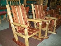Red Rocking Chairs Outdoor Furniture Wallacewoodworks