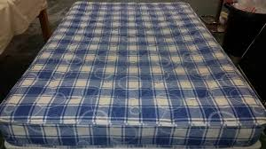 double mattress blue used furniture manchester