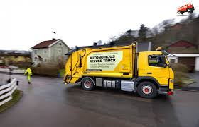 video volvo and renova are testing an autonomous refuse truck