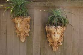 Large Head Planters 37 Garden Art Design Inspirations To Decorate Your Backyard In Style