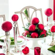 clear glass ornaments decorating ideas easy centerpiece living