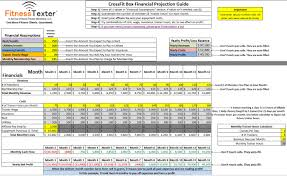 Host Excel Spreadsheet Free Crossfit Financial Projections Excel Spreadsheet