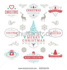 merry happy new year wishes stock vector 329335484