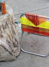 20 hair tutorials we love u2013 a beautiful mess aluminum chair makeover u2013 a beautiful mess