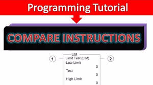 plc programming compare instructions limit test lim hindi