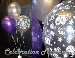 60th birthday decorations 60th birthday balloon party decoration purple silver ebay