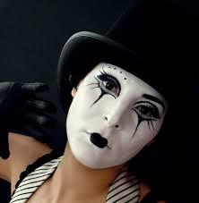 Mime Halloween Costumes Maquillaje Mimo Casero Body Art Makeup