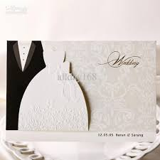 wedding invitation card top quality white dress style invitation wedding invitations come