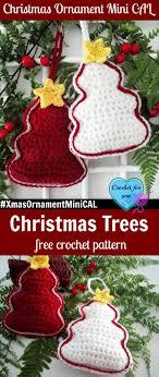 ornament mini cal crochet tree crochet for you