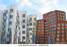 design hotel dã sseldorf frank gehry stock images royalty free images vectors