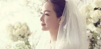 wedding dress drama korea k drama choi ji woo gets married bridal photos released