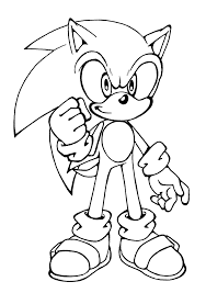 template sonic hedgehog coloring pages  Books Worth Reading
