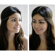 forehead headbands fashion headbands wedding metal bridal accessory for hair