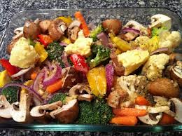 Roasted Vegetables Recipe by Garlic Rosemary Oven Roasted Vegetables With Parmesan Peace Love