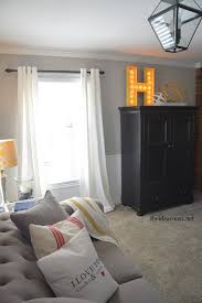 initial home decor diy lighted sign the idea room