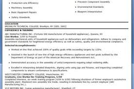 Assembly Line Worker Resume Sample by Production Assistant Resume Production Assistant Resume Samples