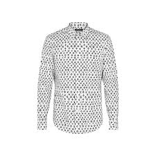 regular short sleeves printed shirt ready to wear louis vuitton regular printed shirt