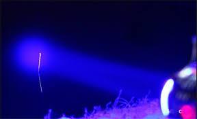 hkv 5w focusing professional fishing flashlight blue light