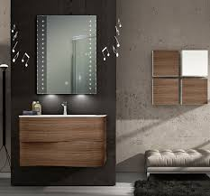 led vanity mirror with surface touch switch bottom ambient light