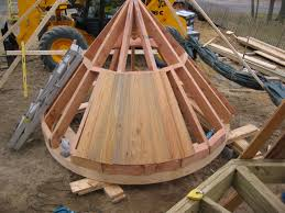 Frame A House by Conical Roof Google Search Round Stone House Pinterest