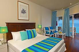 chambre sur pilotis maldives hôtel adaaran rannalhi maldives