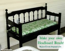 How To Build A Bench Seat Toy Box by Headboard Bench Ideas 25 Projects My Repurposed Life