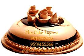 choco vanilla cake 1 kg delivery gorakhpur online cakes for