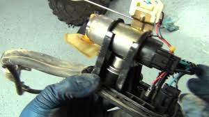 how to diagnose and replace the fuel pump in a can am quad youtube