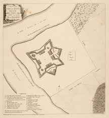 Massachusetts On A Map The Geometry Of War Fortification Plans From 18th Century America