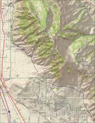 Map Of Ogden Utah by Bonneville Shoreline Trail Pleasant View Section