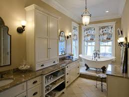Bathroom Countertop Storage by Amusing Design Ideas Using Oval White Free Standing Bathtubs And